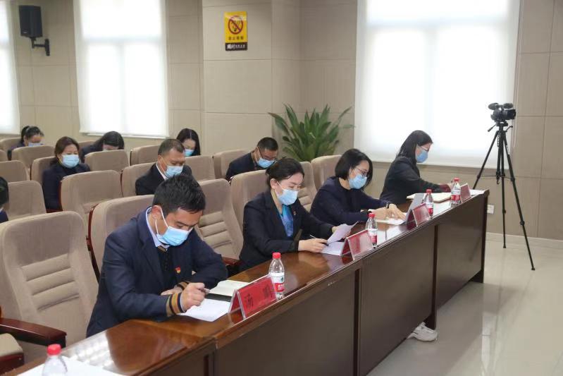 开封市政务服务和大数据管理局党组书记李红权到党建联系点参加主题党日活动